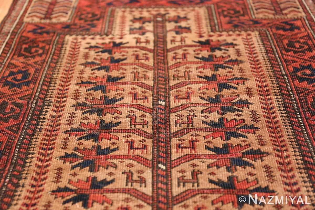 Antique Tribal Persian Baluch Rug 49787 Field Design Nazmiyal