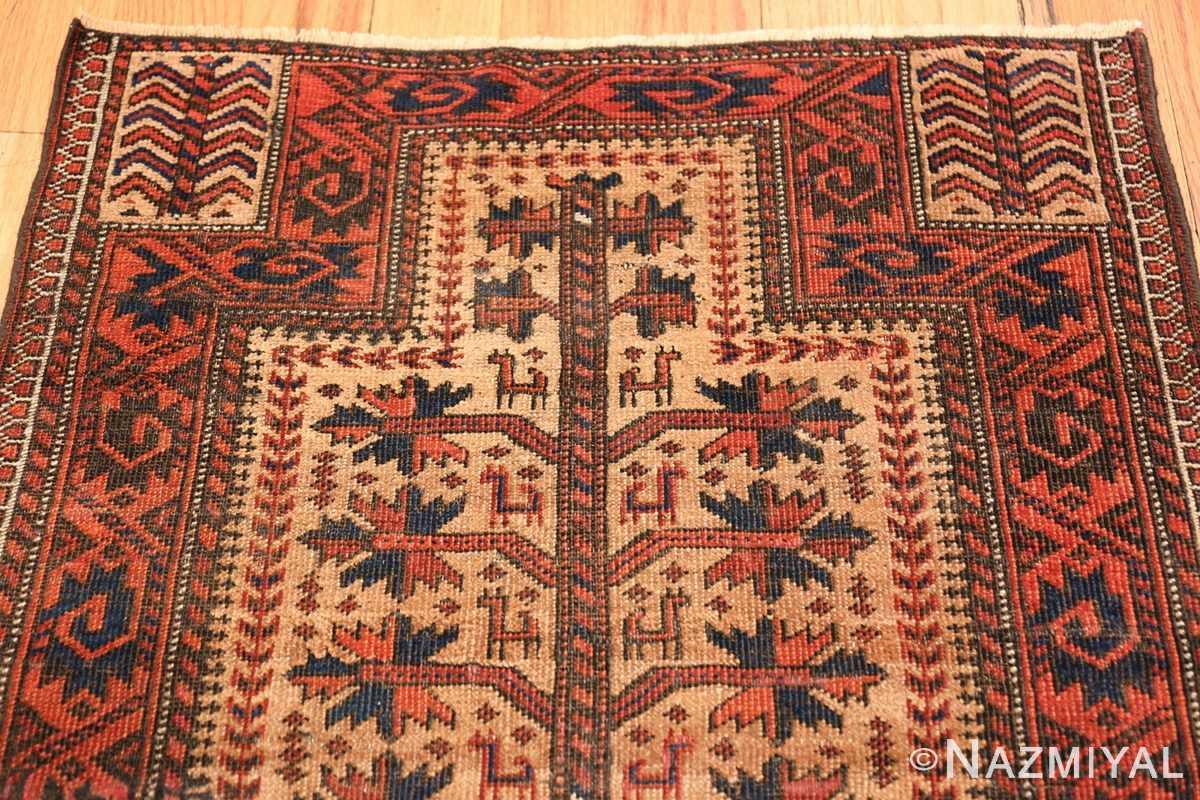 Antique Tribal Persian Baluch Rug 49787 Top Design Nazmiyal