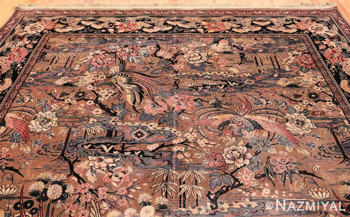 Birds of Paradise Vintage English Wilton rug 49815 Top Design Nazmiyal