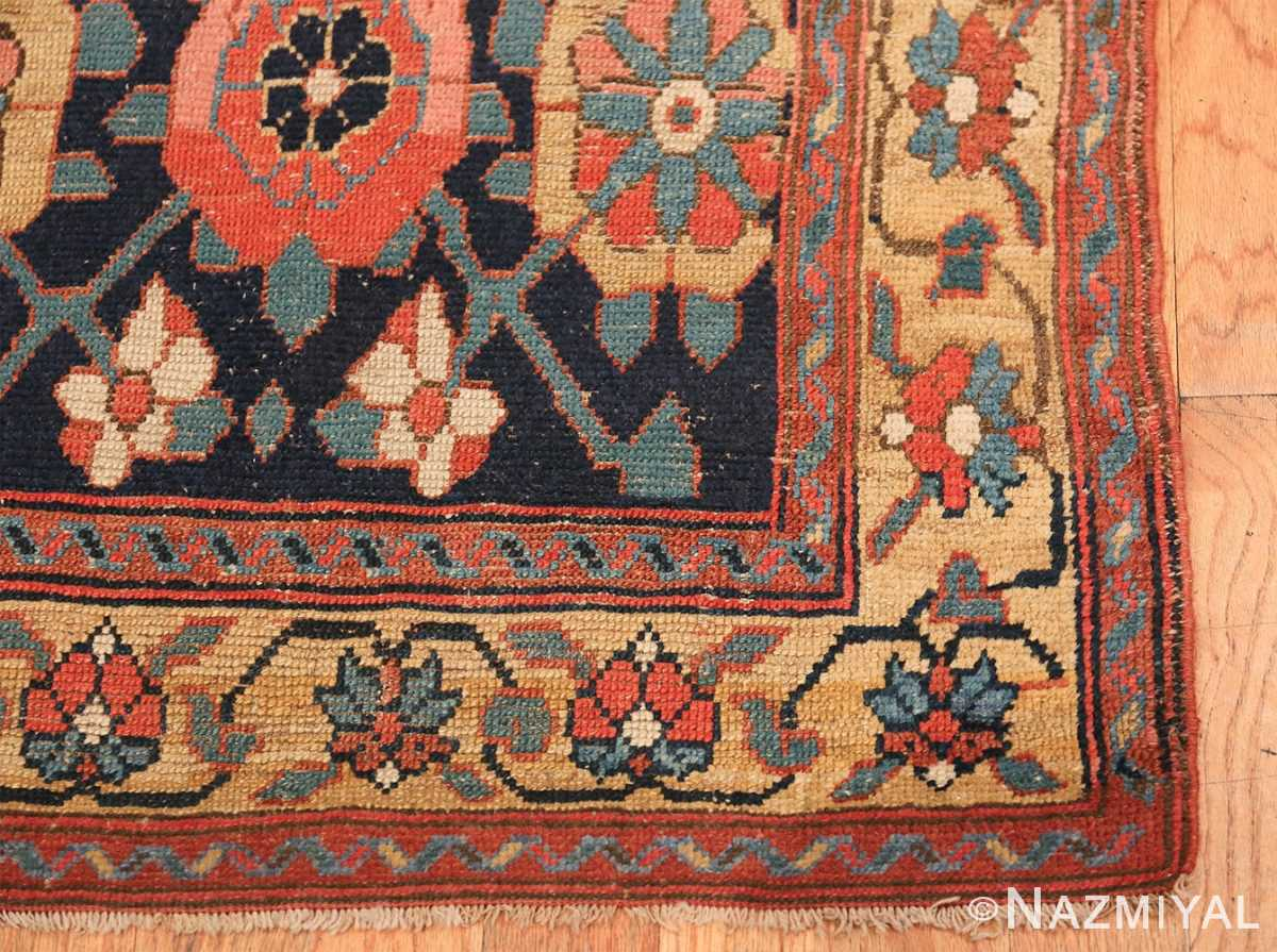 Early 19th Century Tribal Persian Northwest Runner 49499 corner Nazmiyal