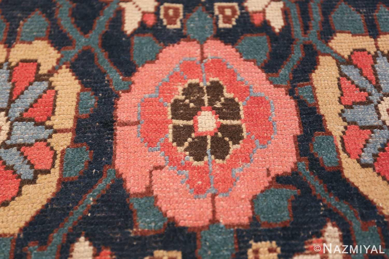 Early 19th Century Tribal Persian Northwest Runner 49499 pink rose Nazmiyal