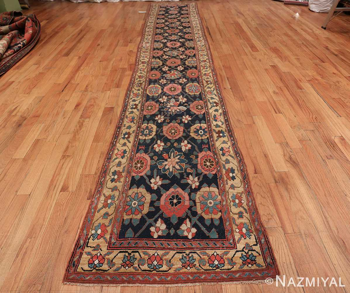 Early 19th Century Tribal Persian Northwest Runner 49499 whole design Nazmiyal