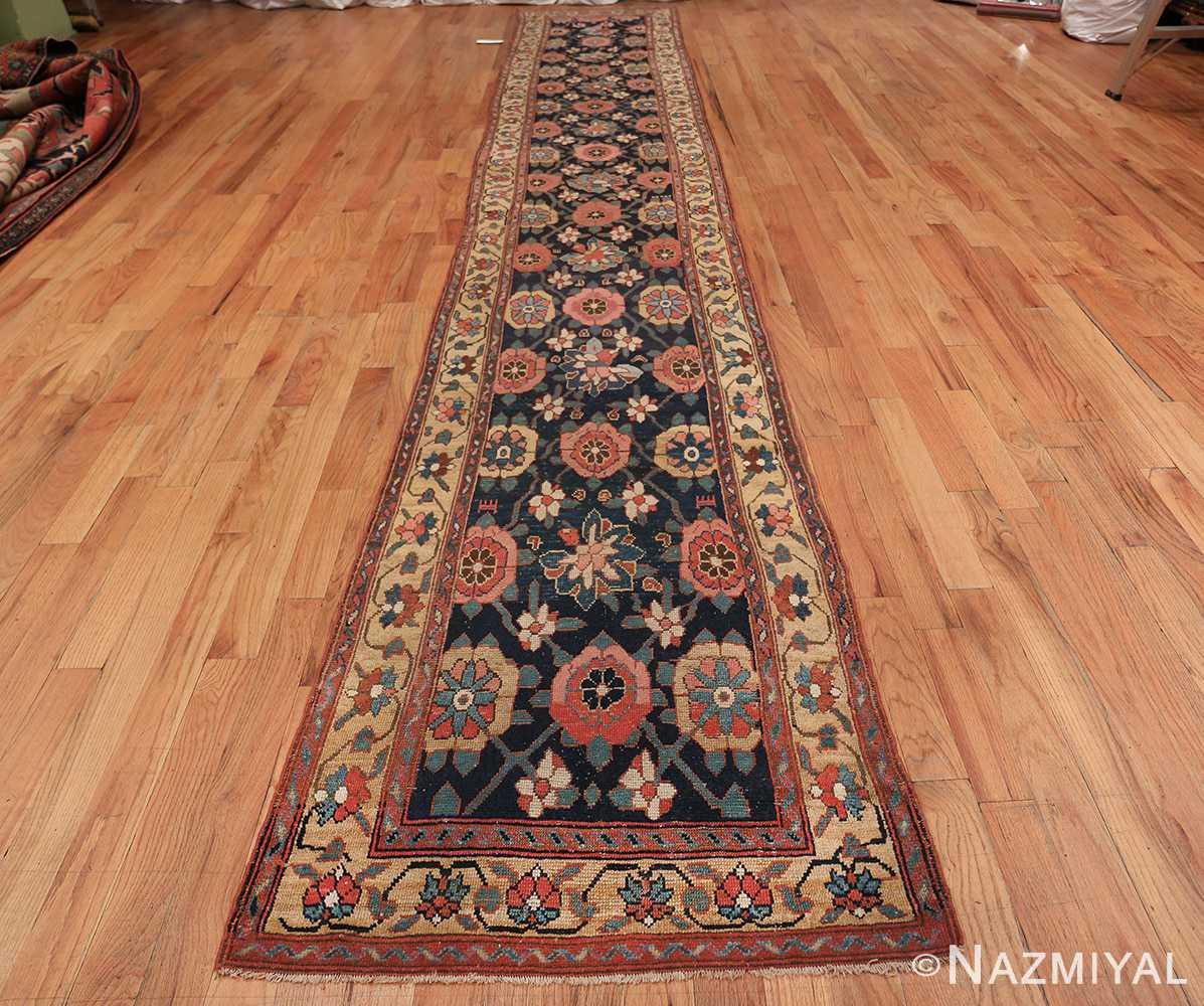 Early 19th Century Tribal Persian Northwest Runner 49499 whole design Nazmiyal
