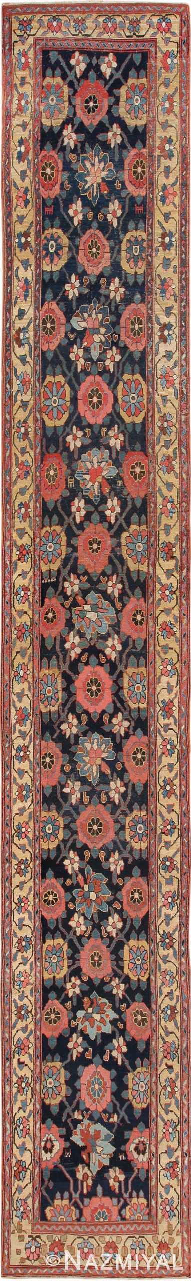 Early 19th Century Tribal Northwest Persian Runner Rug 49499 - Nazmiyal