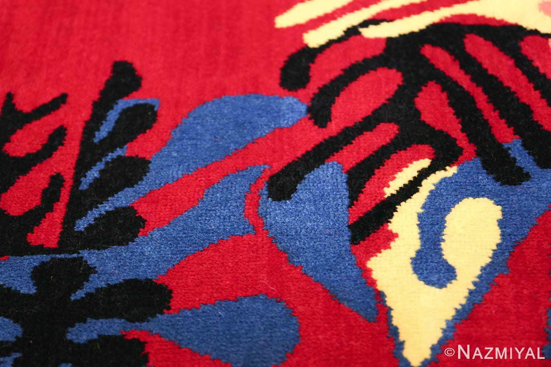 Henri Matisse Mimosa Vintage Rug 49809 Blue Shine Nazmiyal