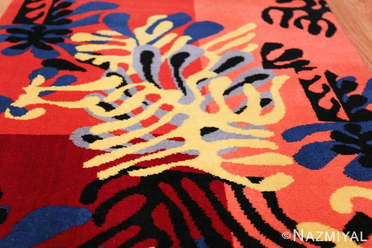 Henri Matisse Mimosa Vintage Rug 49809 Field Arabesques Nazmiyal