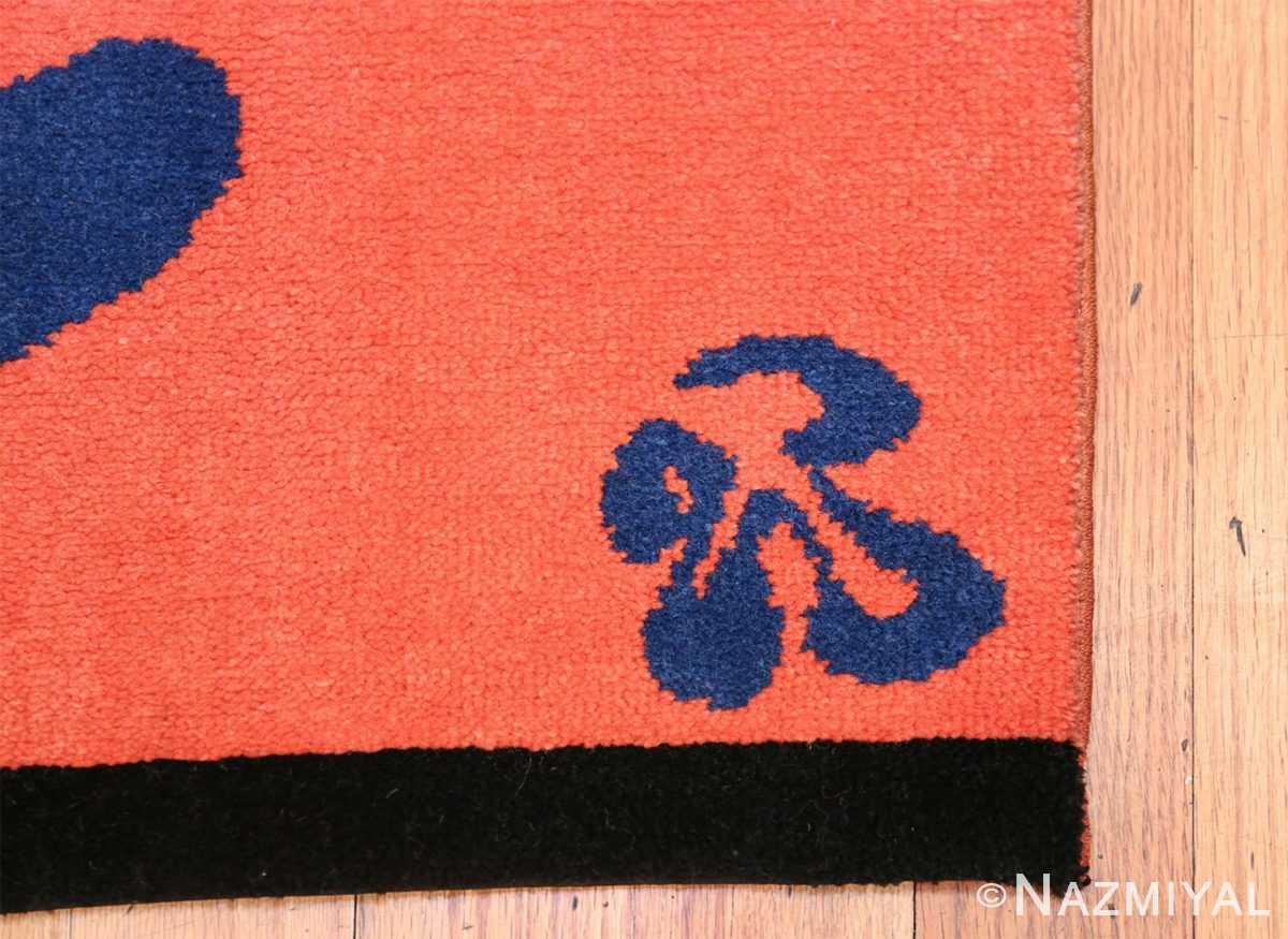 Henri Matisse Mimosa Vintage Rug 49809 Part Corner Nazmiyal