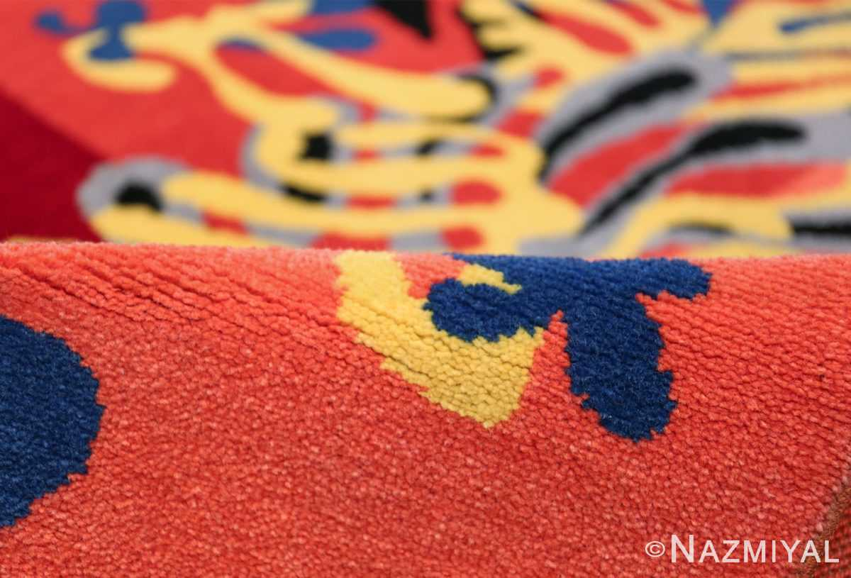 Henri Matisse Mimosa Vintage Rug 49809 Scrolls Pile Namziyal