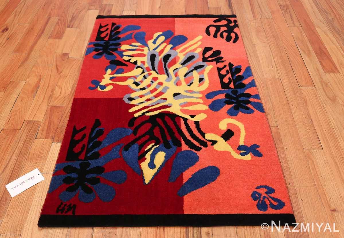 Henri Matisse Mimosa Vintage Rug 49809 Whole Design Nazmiyal