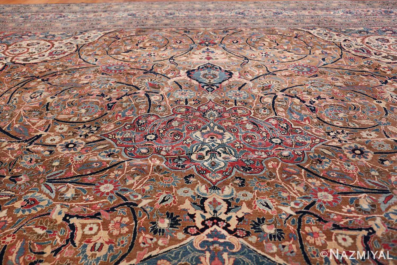 Large Antique Persian Khorassan Rug 49694 arabesque Nazmiyal
