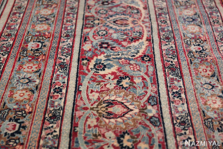 Large Antique Persian Khorassan Rug 49694 Lines Nazmiyal