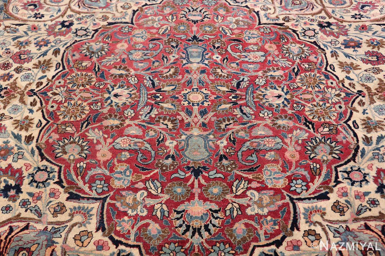 Large Antique Persian Khorassan Rug 49694 Red Interior Part Nazmiyal