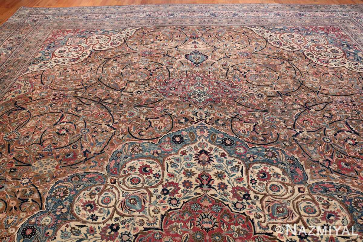 Large Antique Persian Khorassan Rug 49694 Top Design Nazmiyal