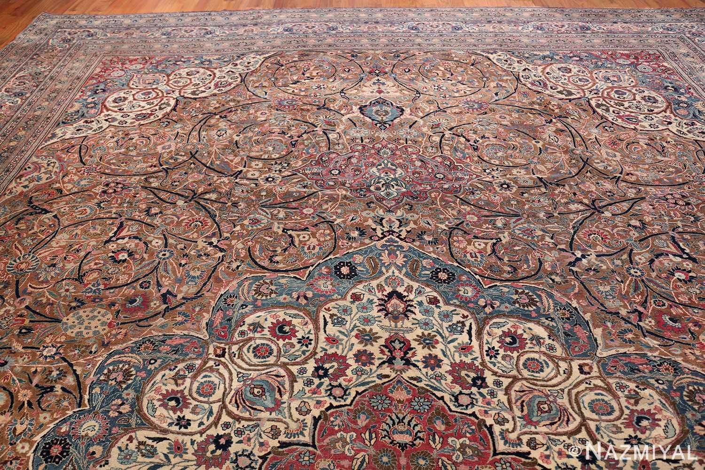 Large Antique Persian Khorassan Rug 49694 Top Design Nazmiyal