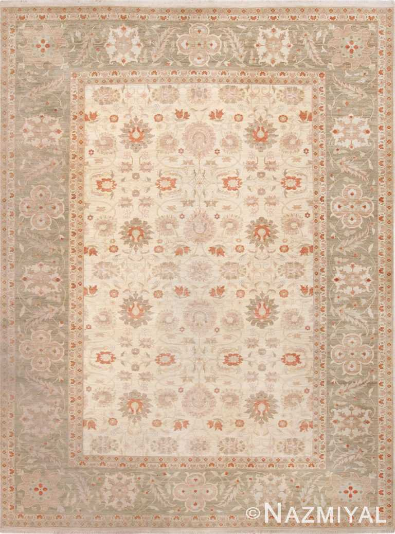 Large Persian Tabriz Design Modern Egyptian Rug 49805 - Nazmiyal