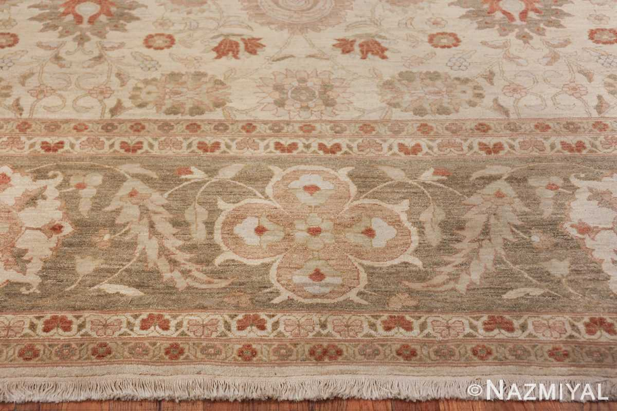 Large Modern Tabriz Design Egyptian Rug 49805 border Nazmiyal