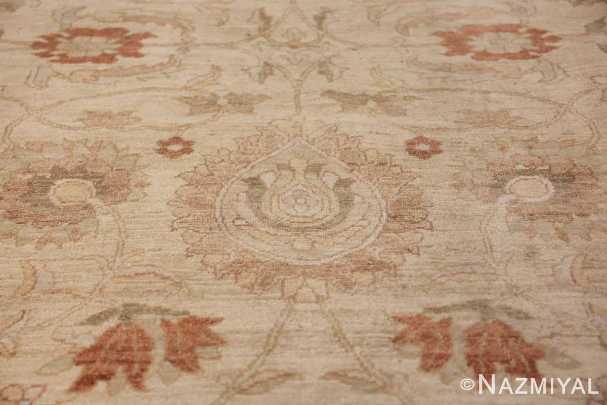 Large Modern Tabriz Design Egyptian Rug 49805 ivory design Nazmiyal
