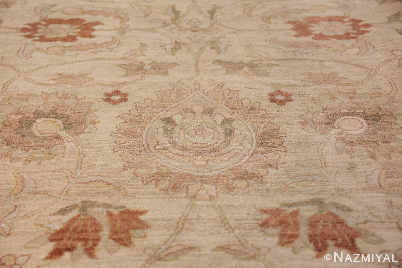 Large Modern Tabriz Design Egyptian Rug 49805 ivory design Nazmiyal