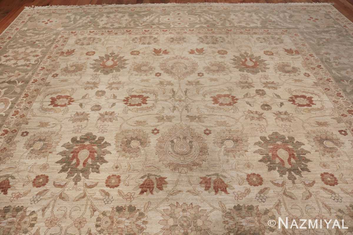 Large Modern Tabriz Design Egyptian Rug 49805 top Nazmiyal