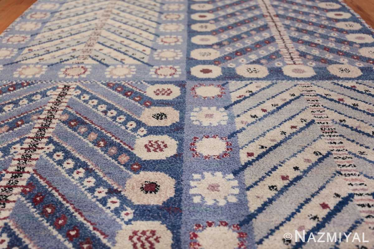 Marianne Richter vintage Scandinavian Pile Rug For Marta Mass 49824 Field Nazmiyal