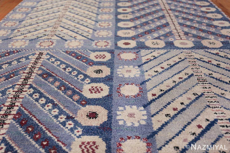 Marianne Richter vintage Scandinavian Pile Rug For Marta Mass 49824 Field Nazmiyal