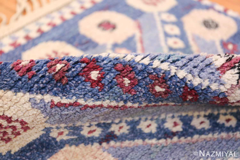 Marianne Richter vintage Scandinavian Pile Rug For Marta Mass 49824 Floral Pile Nazmiyal