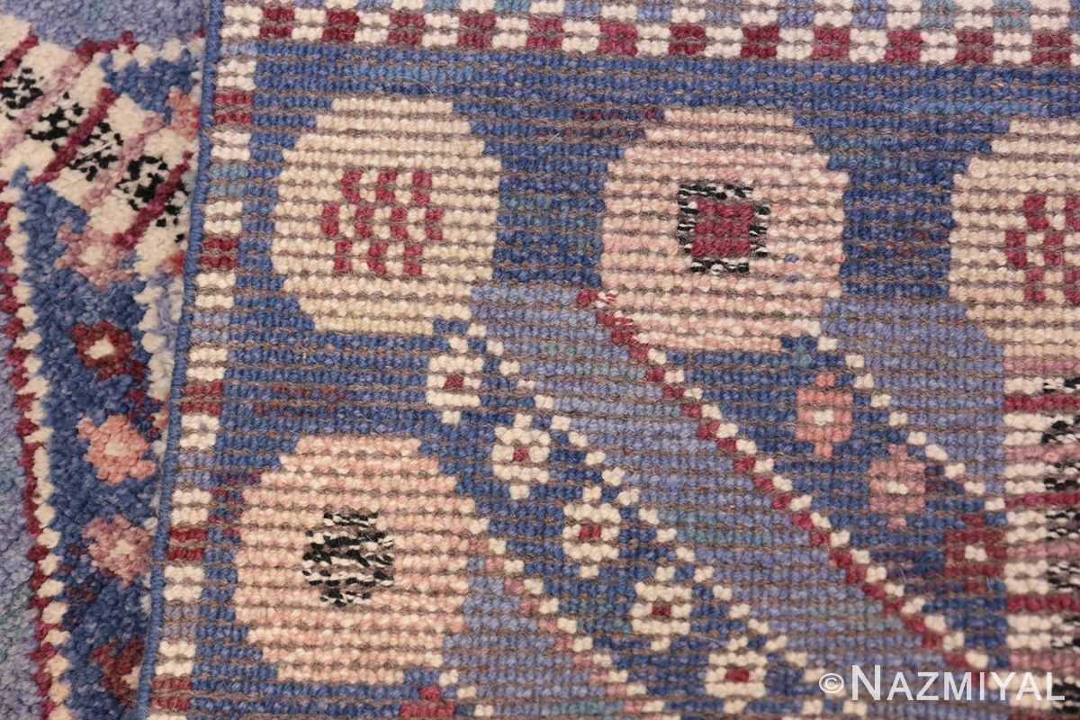 Marianne Richter vintage Scandinavian Pile Rug For Marta Mass 49824 Knots Nazmiyal