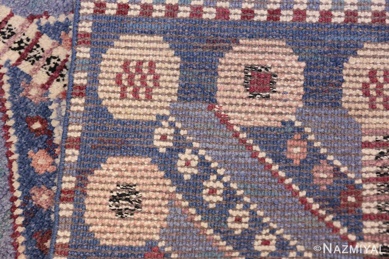 Marianne Richter vintage Scandinavian Pile Rug For Marta Mass 49824 Knots Nazmiyal