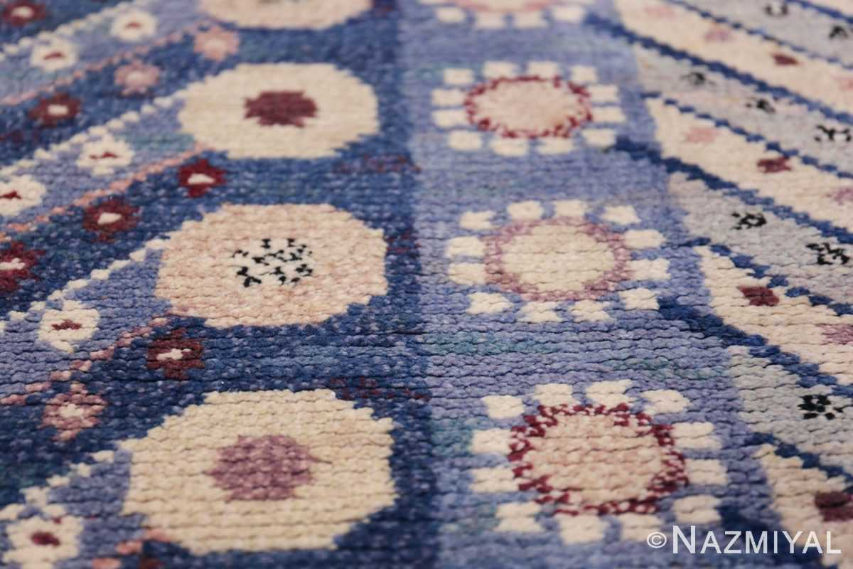 Marianne Richter vintage Scandinavian Pile Rug For Marta Mass 49824 Texture Nazmiyal