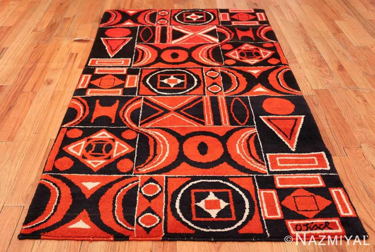 Olga Fisch Formas Vintage Ecuadorian Rug 49814 Whole Design Nazmiyal