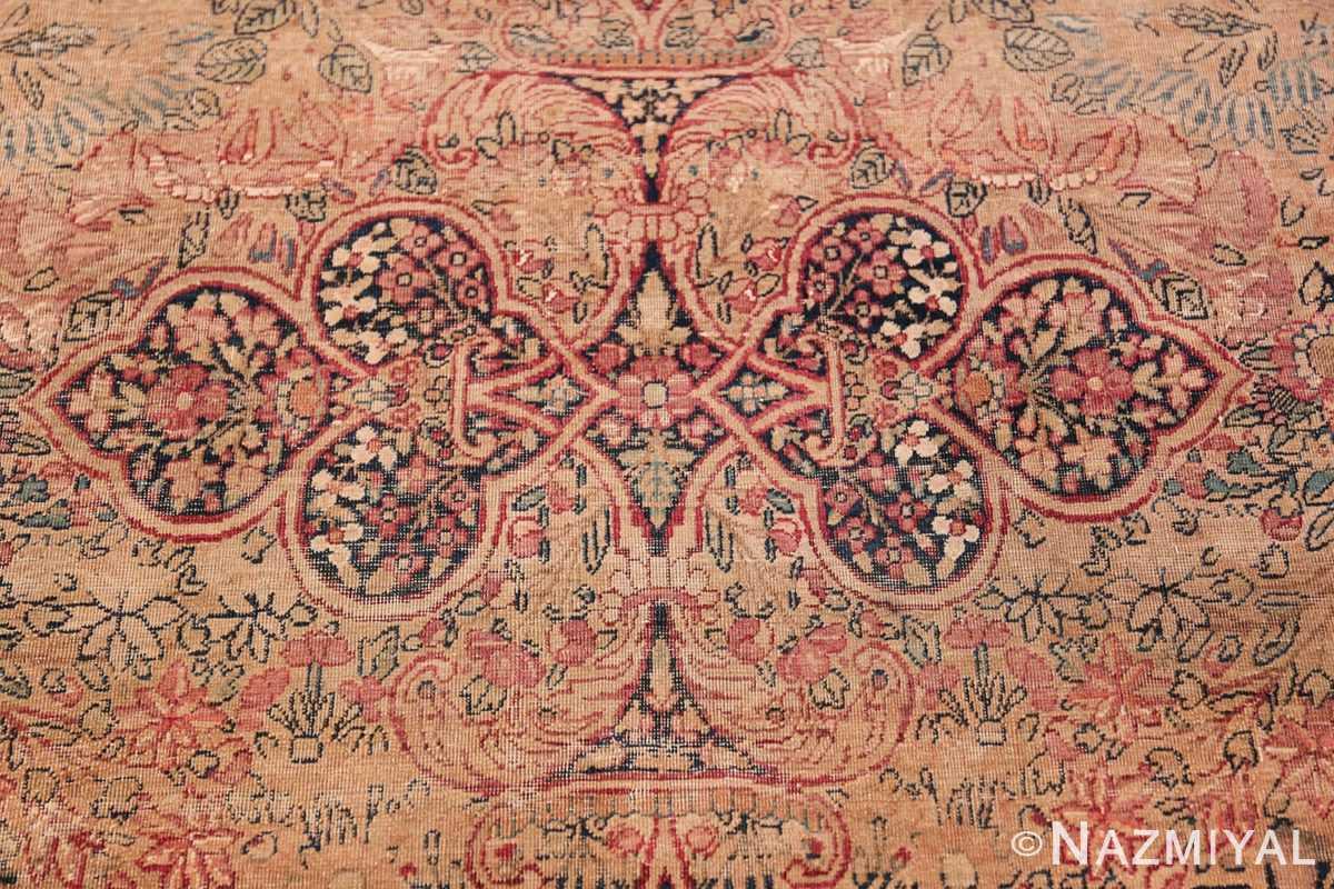 Oversize Antique Persian Lavar Kerman Rug 49681 Decorative Ornament Nazmiyal