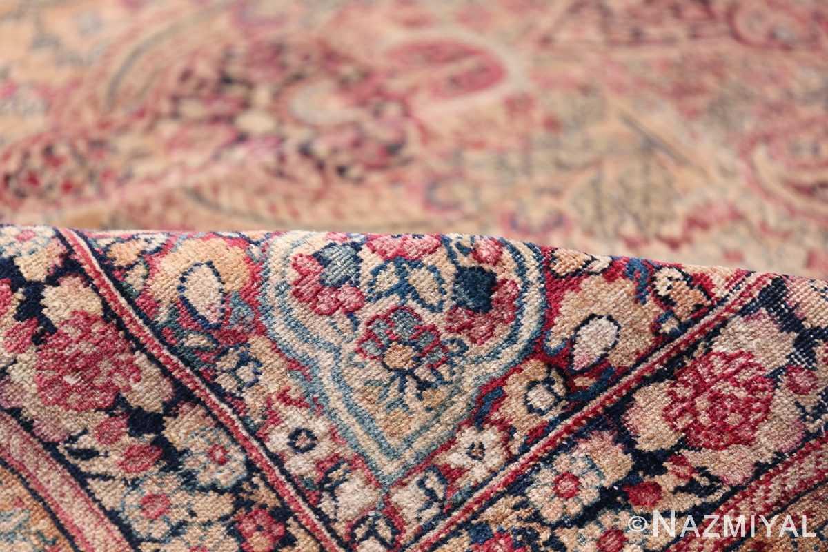 Oversize Antique Persian Lavar Kerman Rug 49681 Floral Pile Nazmiyal