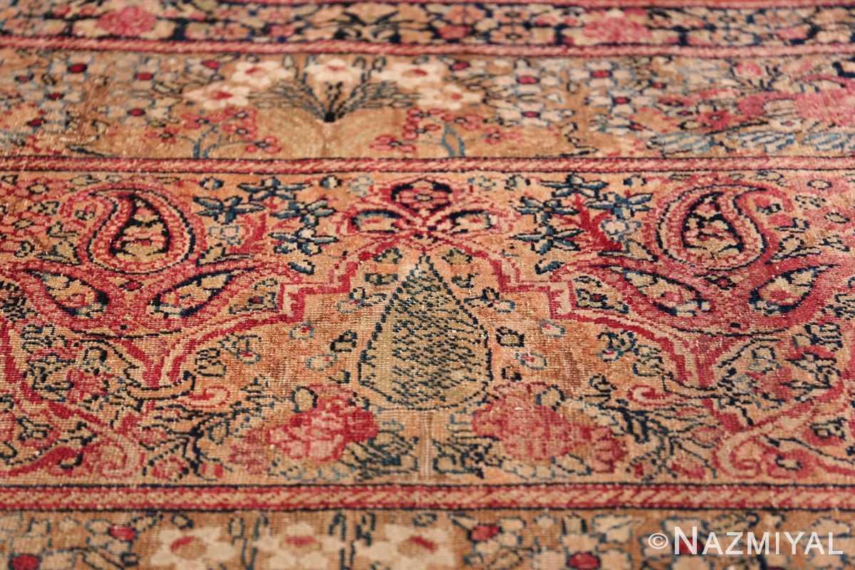 Oversize Antique Persian Lavar Kerman Rug 49681 Pine Tree Nazmiyal