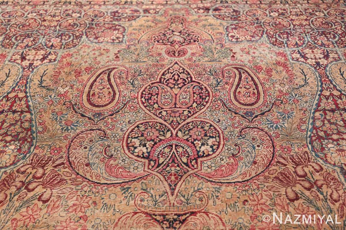 Oversize Antique Persian Lavar Kerman Rug 49681 Top Design Nazmiyal