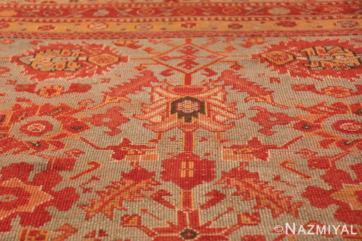 Room Size Antique Turkish Oushak Rug 49539 design Nazmiyal
