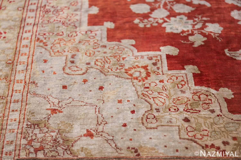 Antique Silk Persian Hajijalili Tabriz Rug 49830 Light Blue Pattern Nazmiyal