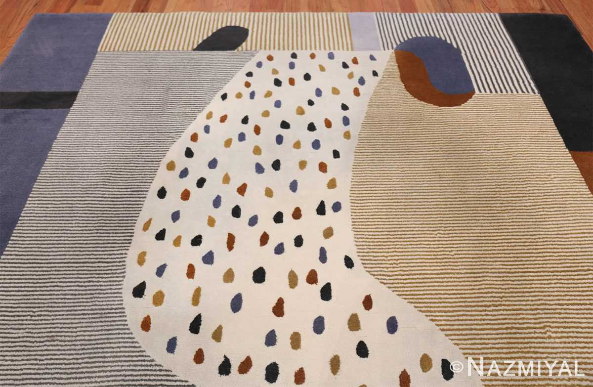 Josef Frank Stream For House and Garden Vintage Scandinavian Rug 49820 Top Design Nazmiyal