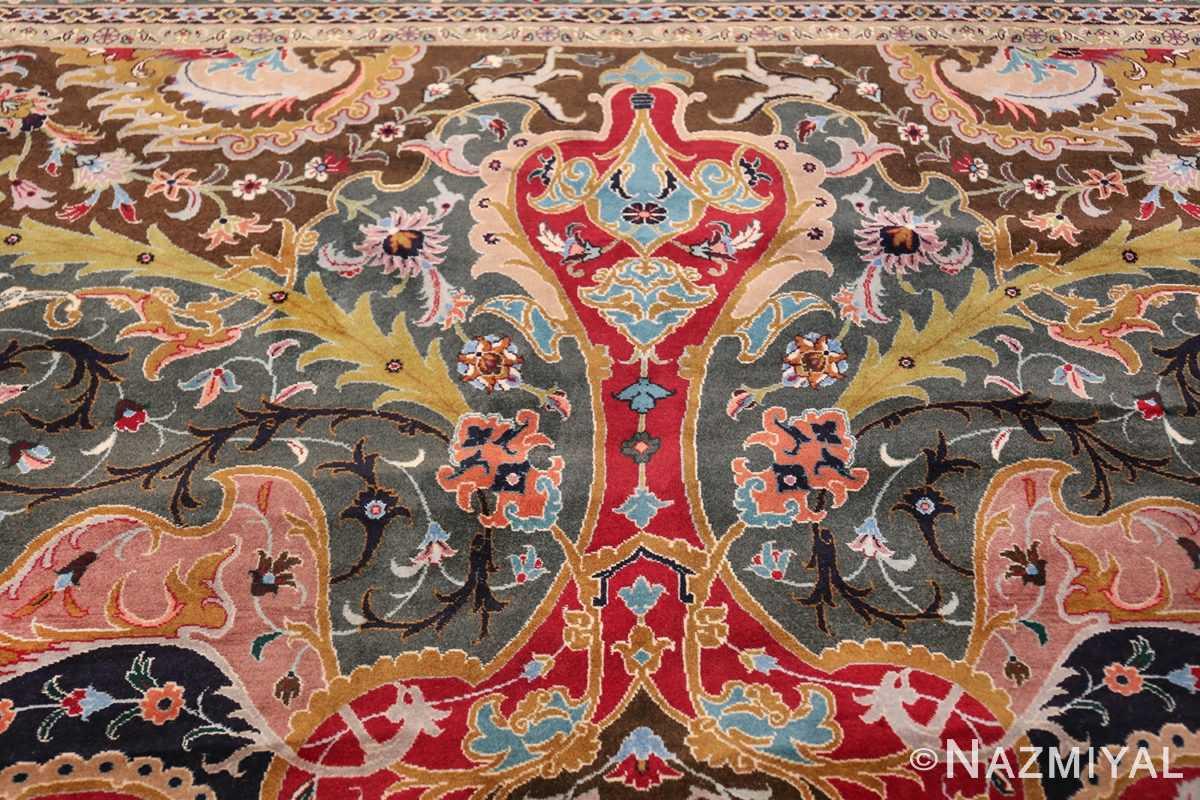 Oversized Vintage Persian Tabriz Rug 49837 Light Side Nazmiyal