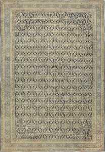 Large Antique Persian Malayer Rug 41370 Nazmiyal