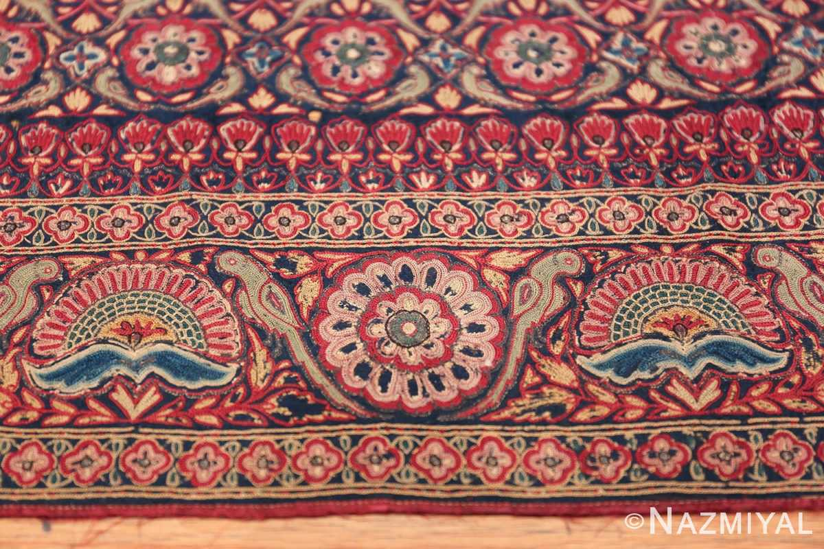 18th Century Indian Embroidery Textile 40364 Border Design Nazmiyal