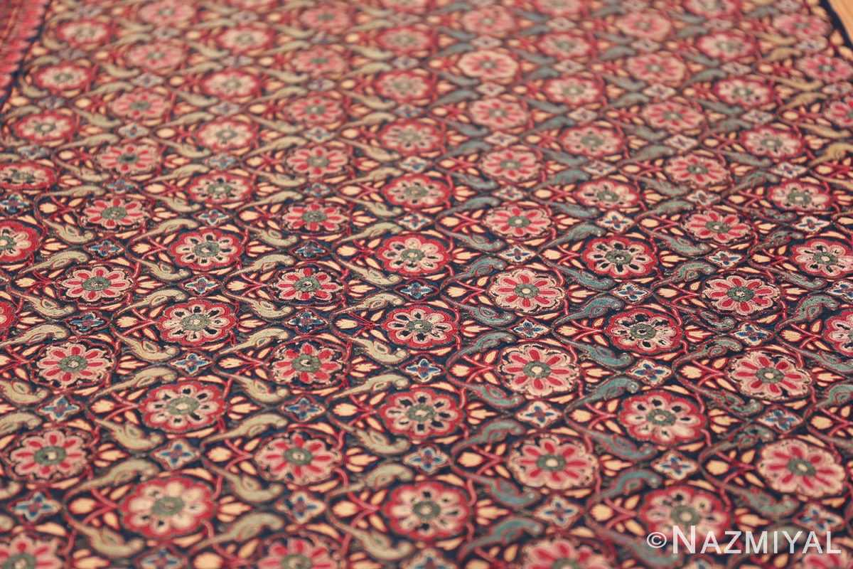 18th Century Indian Embroidery Textile 40364 Field Design Nazmiyal