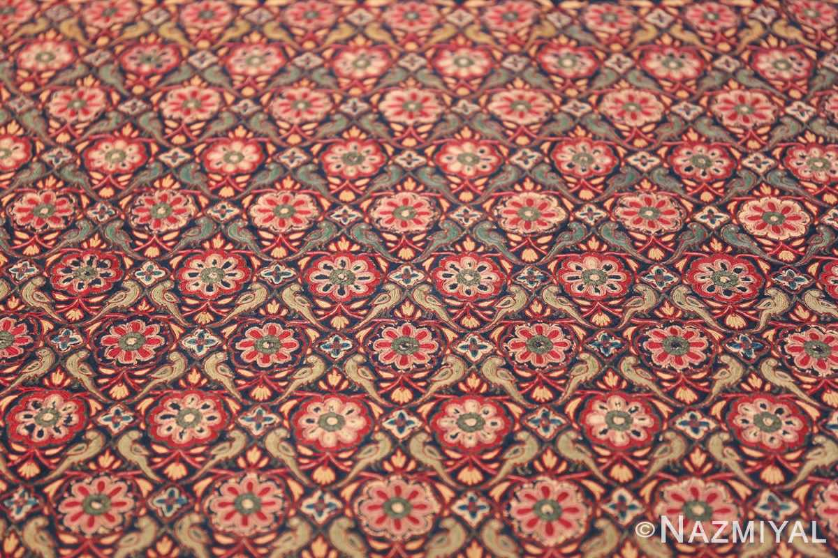 18th Century Indian Embroidery Textile 40364 Middle Part Nazmiyal