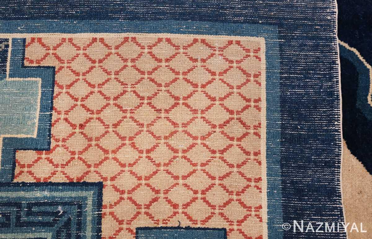 Animal Motif Antique Chinese Rug 49808 Woven Knots Nazmiyal