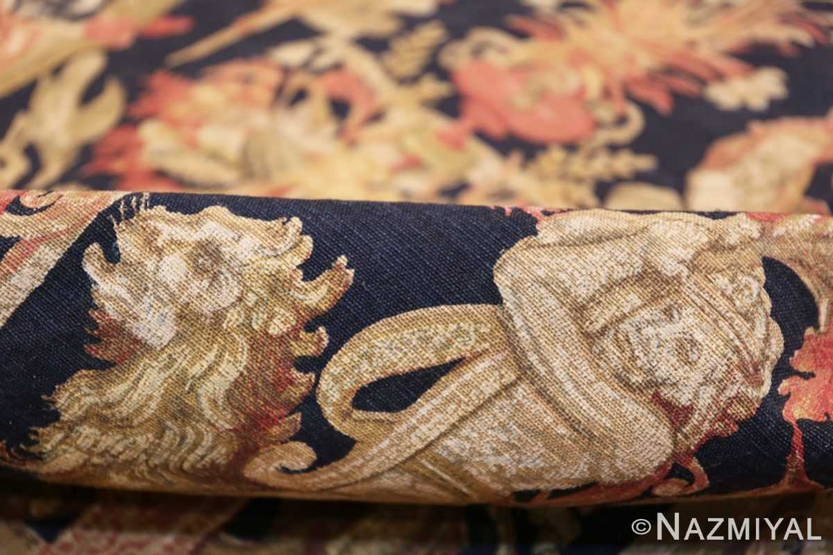 Antique D'Art De Rambouillet Edition French Tapestry 49901 Pile Nazmiyal