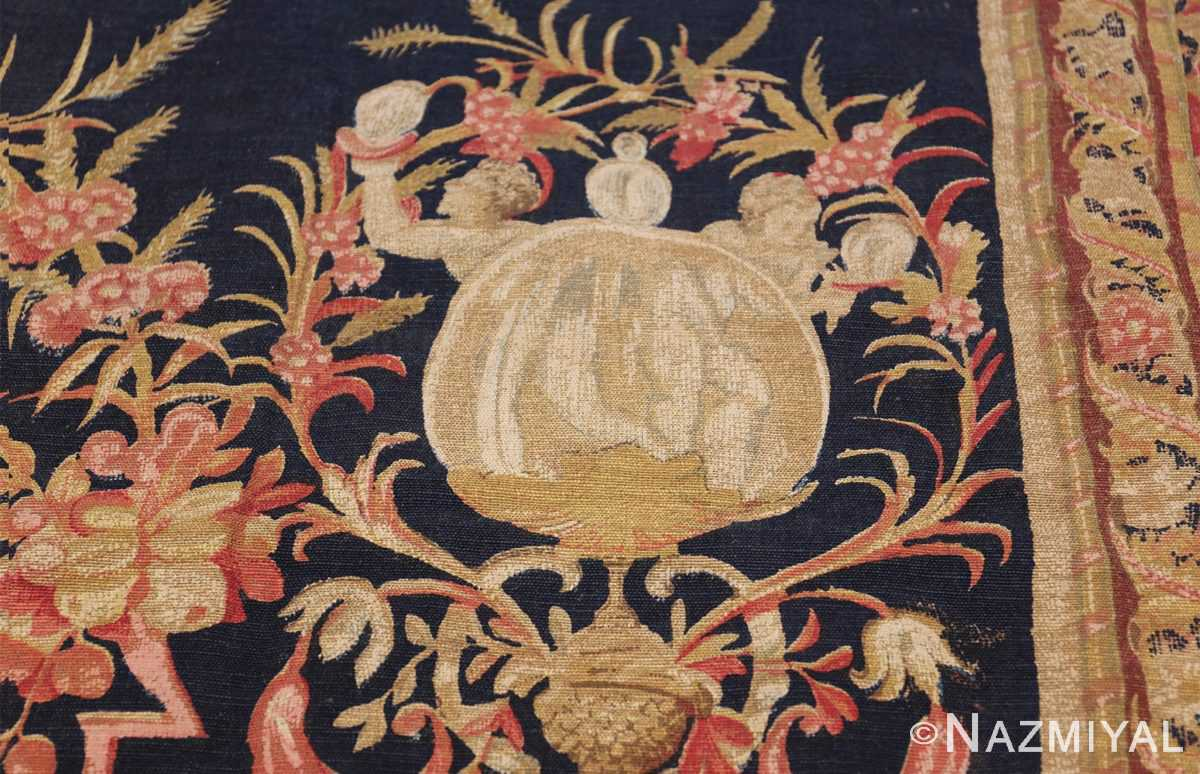 Antique D'Art De Rambouillet Edition French Tapestry 49901 Side Sphere Nazmiyal