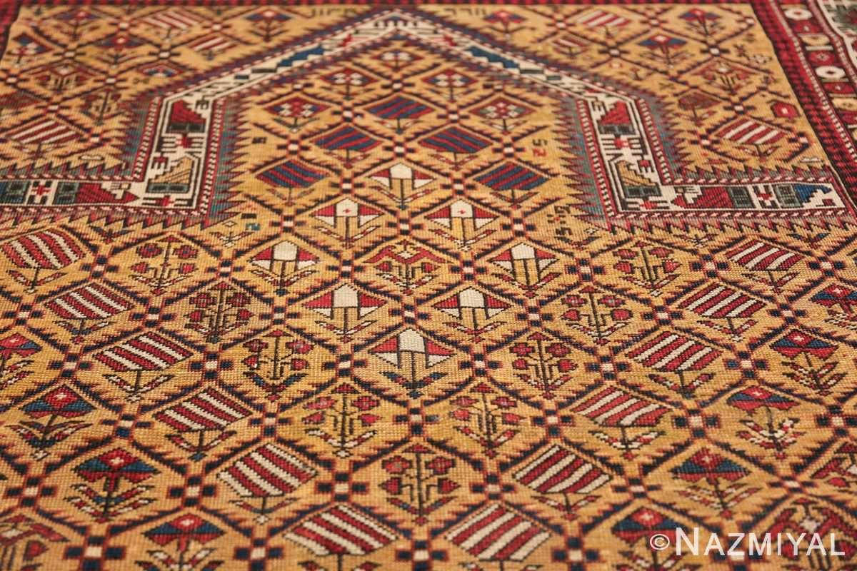 Antique Prayer Design Caucasian Dagestan Rug 49485 Prayer Design Nazmiyal