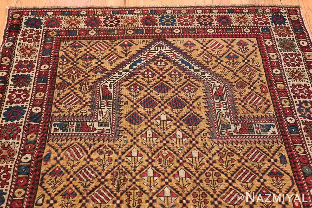 Antique Prayer Design Caucasian Dagestan Rug 49485 Top Design Nazmiyal