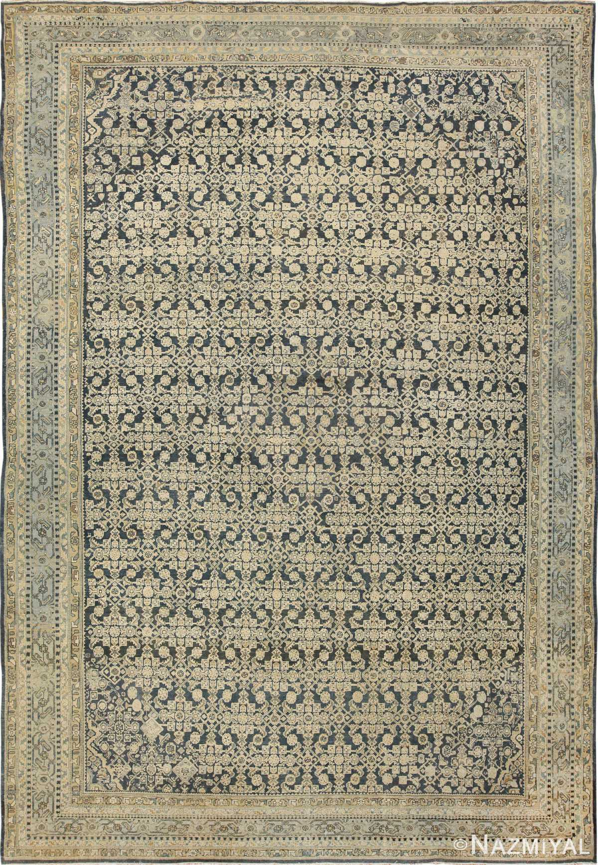 Large Antique Persian Malayer Rug 41370 Nazmiyal