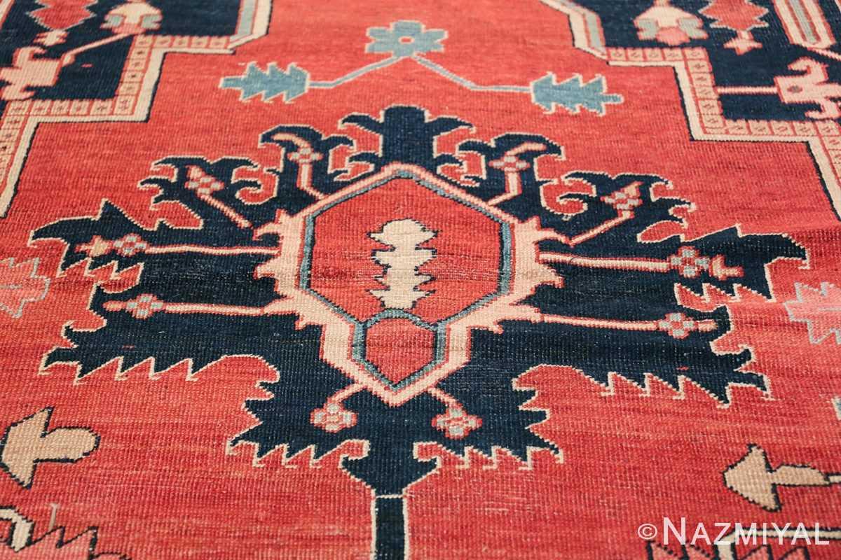 arge Antique Persian Serapi Rug 49595 Tiara Nazmiyal