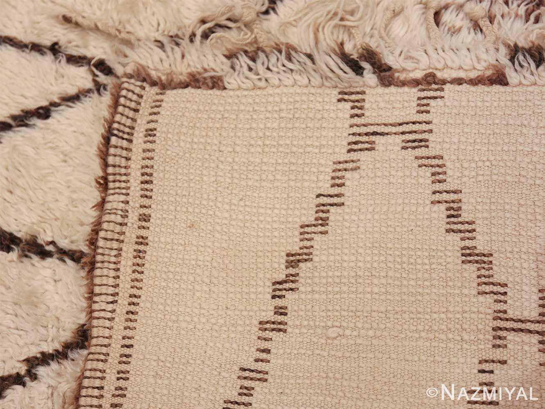 Large Vintage Moroccan Rug 49895 Woven Knots Nazmiyal